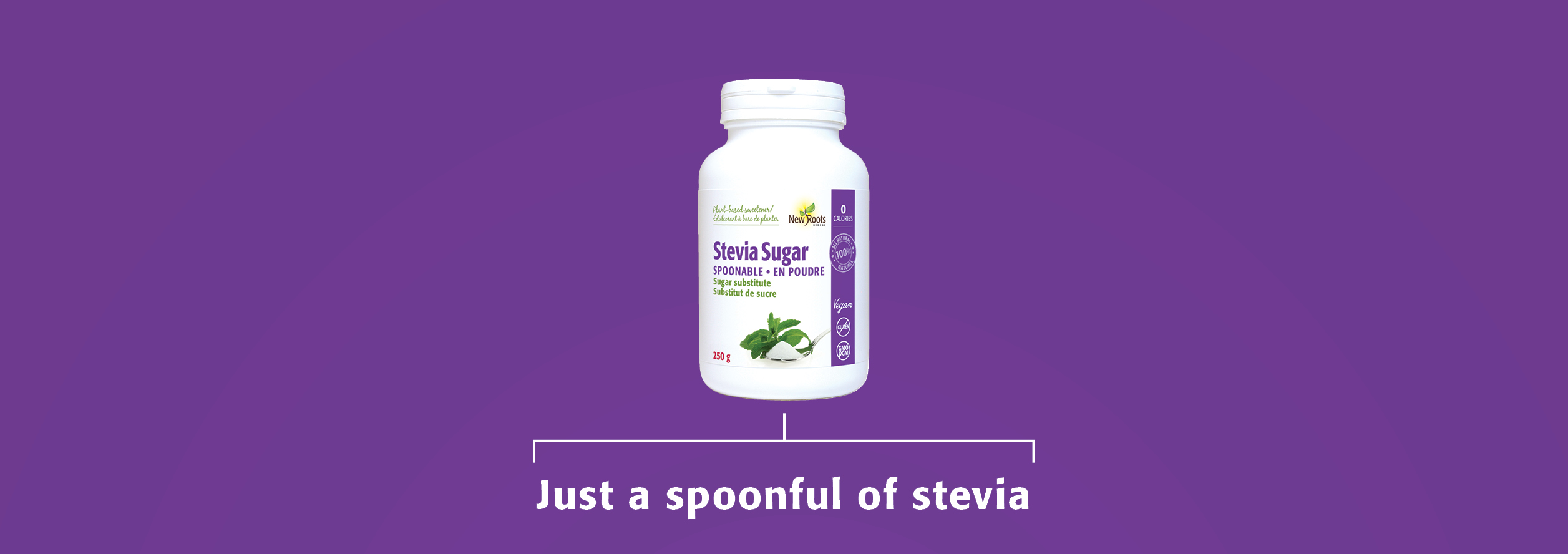 Just a spoonful of stevia